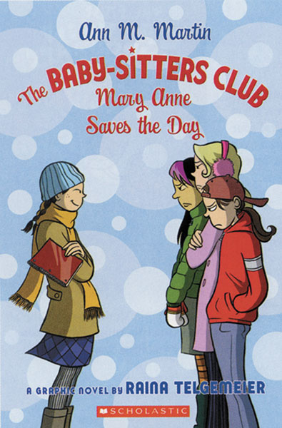 Image: Baby Sitter's Club Vol. 03: Mary Anne Saves the Day SC  - Graphix