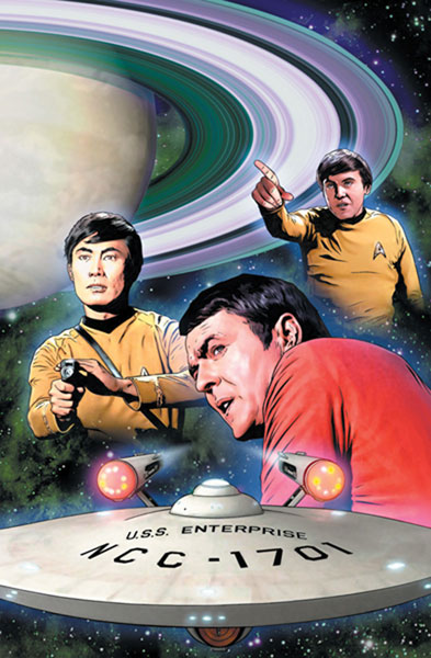 Image: Star Trek: Year Four #2 (Cover B) - IDW Publishing