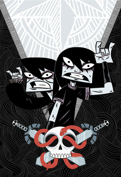 Image: Black Metal Vol. 01 SC  - Oni Press Inc.