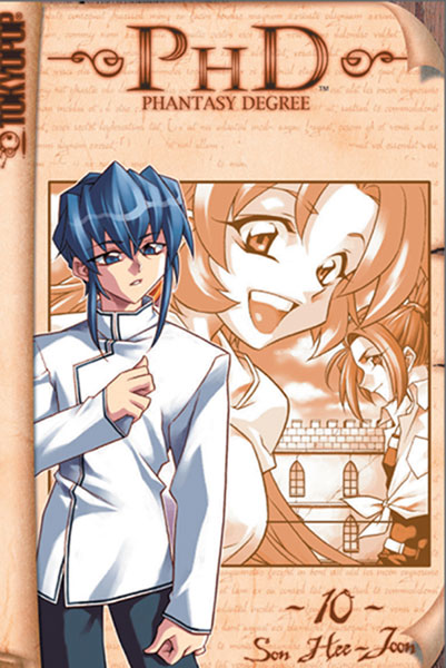 Image: PHD: Phantasy Degree Vol. 10 GN  - Tokyopop