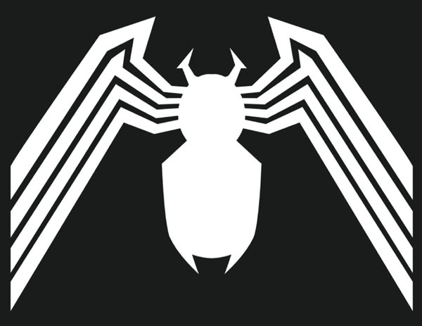 Black spiderman symbol - photo#17