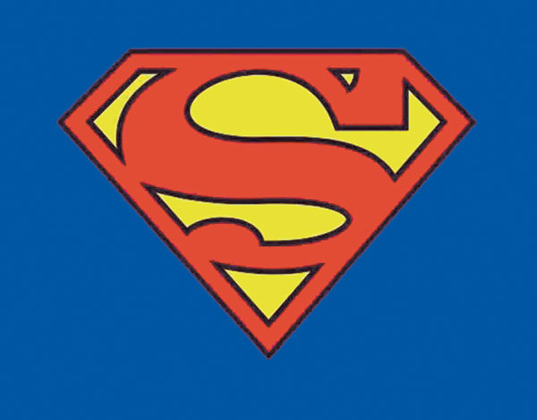 Image: Superman: Symbol Youth T-Shirt  (S) -