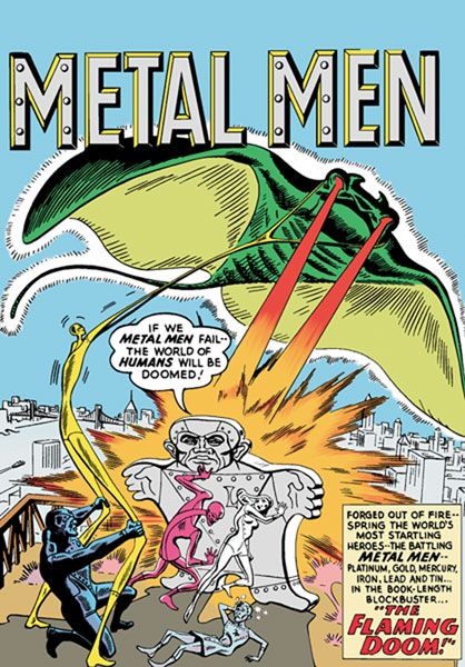 Image: Showcase Presents Metal Men Vol. 01 SC  - DC Comics