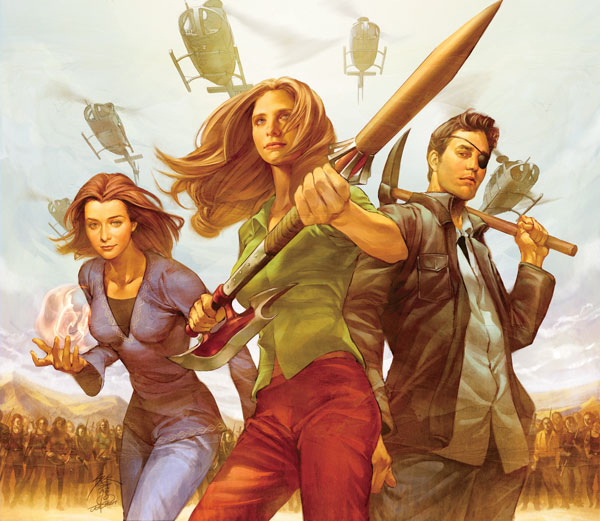 Image: Buffy the Vampire Slayer Vol. 01: Long Way Home SC  - Dark Horse Comics
