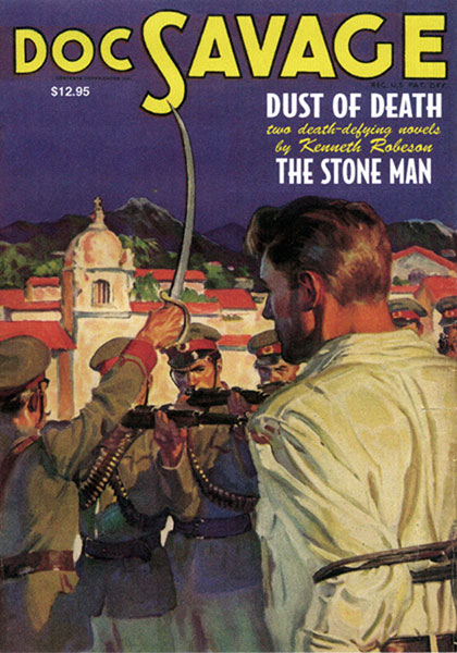 Image: Doc Savage #10: Dust of Death & The Stone Man SC  -