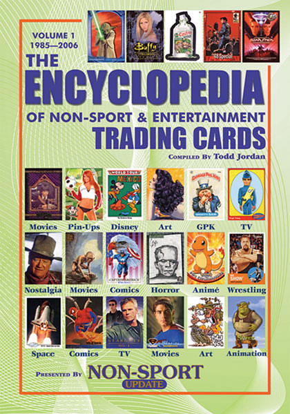 Image: Encyclopedia of Non-Sport & Entertainment Trading Cards Vol. 1 SC  -