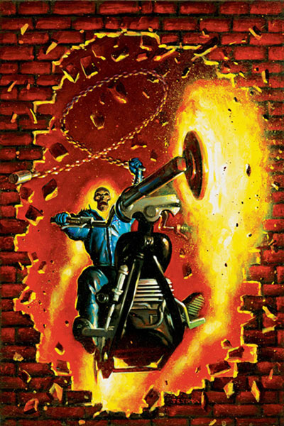 Image: Ghost Rider #15 (Vol. 5) - Marvel Comics