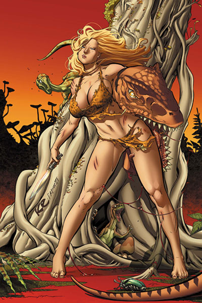 Image: Shanna, the She-Devil: Survival of the Fittest #2 - Marvel Comics