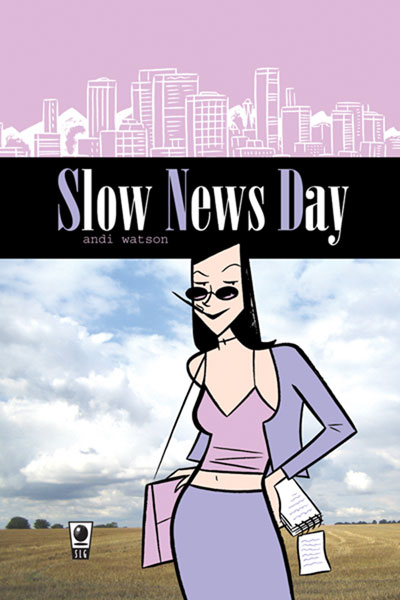 Image: Slow News Day  - Amaze Ink/Slave Labor Graphics