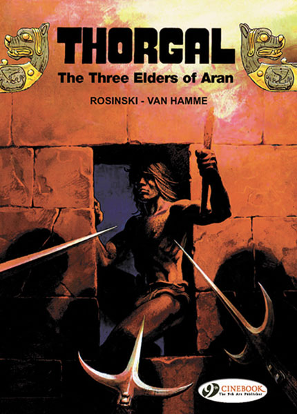 Image: Three Elders of Aran - The Black Gallery  (Thorgal Vol. 2) SC - Cinebook