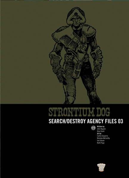 Image: Strontium Dog: Search / Destroy Agency Files 03 SC  - Rebellion