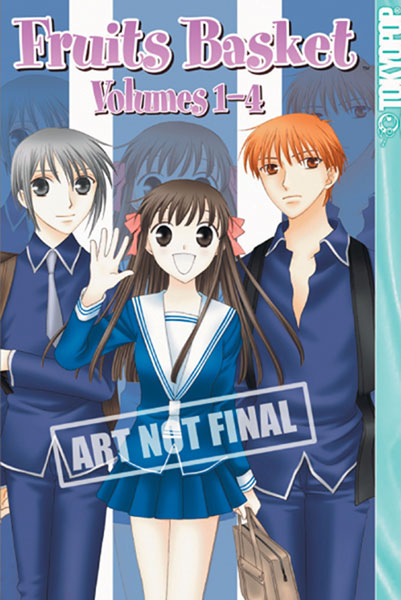 Image: Fruits Basket Vol. 1-4 Boxed Set  - Tokyopop