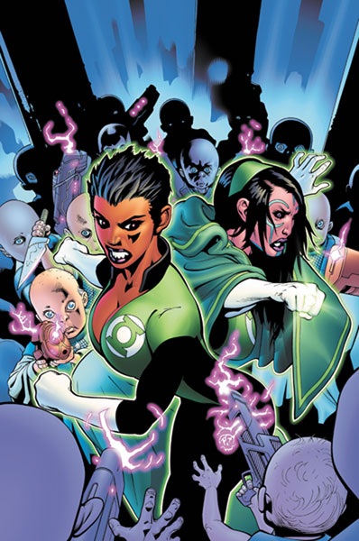 Image: Green Lantern Corps: The Dark of Green SC  - DC Comics