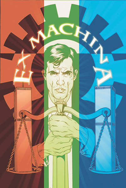 Image: Ex Machina Vol. 06: Power Down SC  - DC Comics