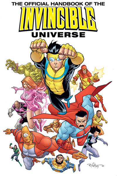 Image: Invincible: The Official Handbook of the Invincible Universe Vol. 01 SC  - Image Comics