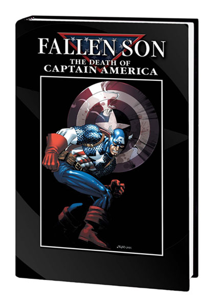 Image: Fallen Son: The Death of Captain America HC  - Marvel Comics