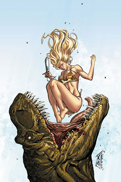Image: Shanna, the She-Devil: Survival of the Fittest #3 - Marvel Comics