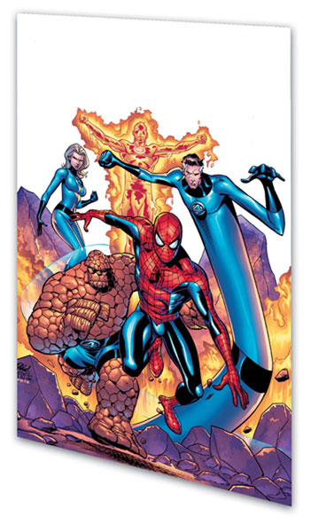 Image: Spider-Man & The Fantastic Four: Silver Rage SC  - Marvel Comics
