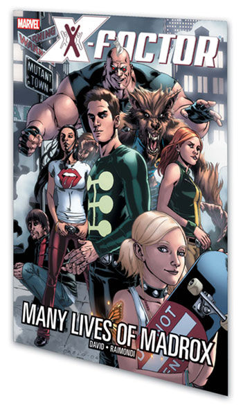 Image: X-Factor Vol. 03: Many Lives of Madrox SC  - Marvel Comics