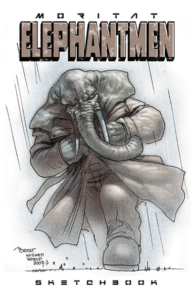 Image: Moritat: Elephantmen Sketchbook SC  - Active Images