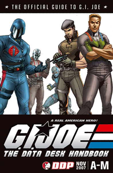 Image: G.I. Joe: Data Desk Handbook Coll A-M SC  - Devils Due Publishing
