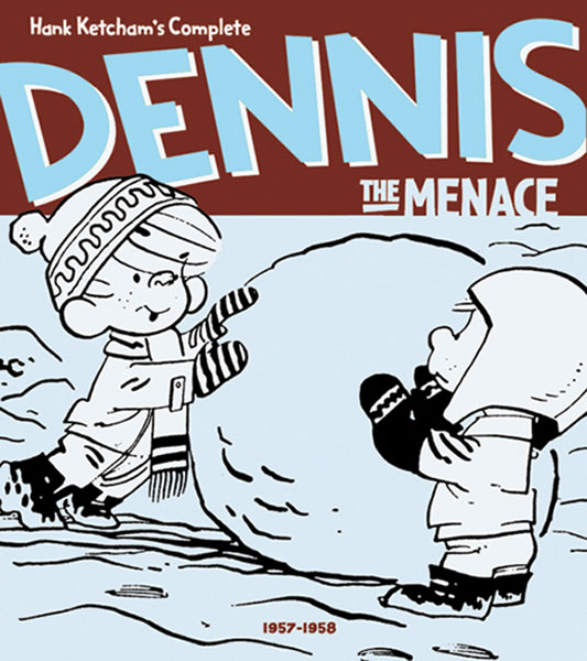 Image: Hank Ketcham's Complete Dennis the Menace 1957-1958 HC  - Fantagraphics Books