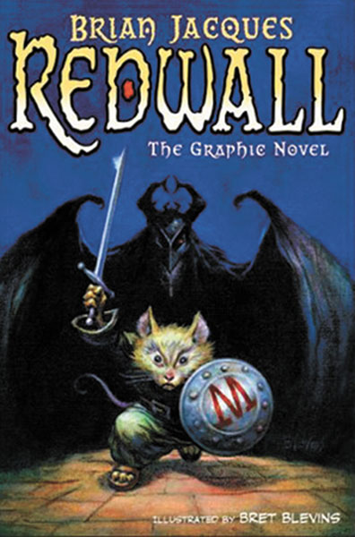 Image: Redwall - Brian Jacques SC  - Philomel Books