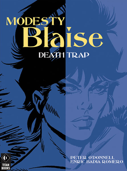 Image: Modesty Blaise: Death Trap SC  - Titan Publishing