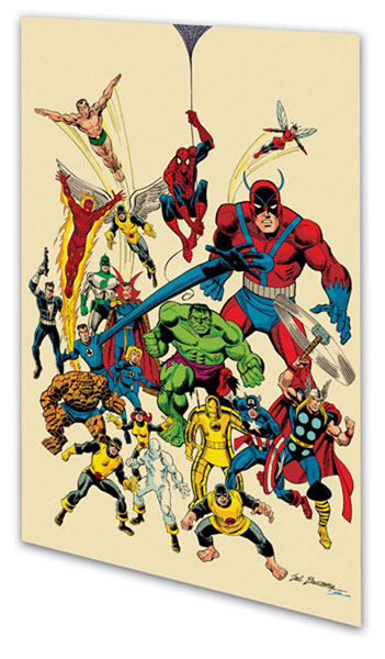 Image: Marvel Legacy: The 1960s-1990s Handbook SC  - Marvel Comics