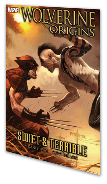 Image: Wolverine: Origins Vol. 03 - Swift and Terrible SC  - Marvel Comics