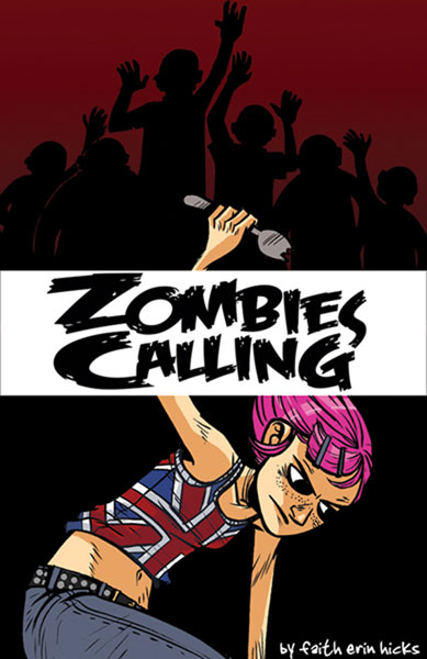 Image: Zombies Calling SC  - Amaze Ink/Slave Labor Graphics