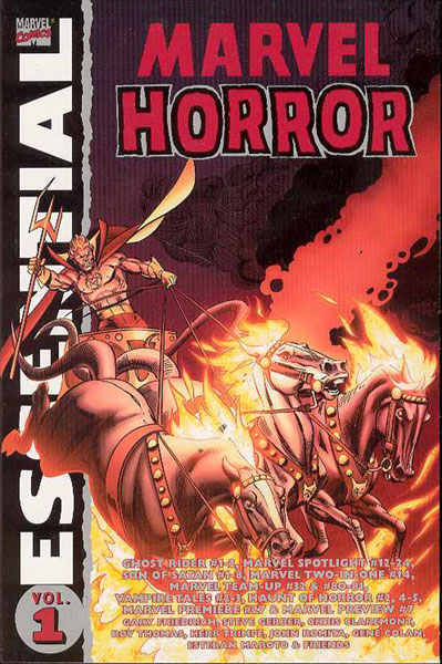 Image: Essential Marvel Horror Vol. 01 SC  - Marvel Comics