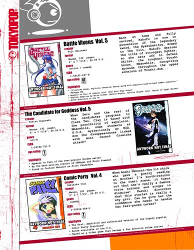 Image: Battle Vixens Vol. 05 SC  - Tokyopop
