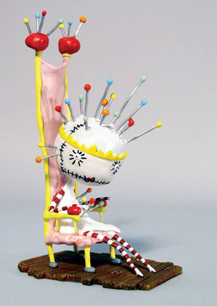 Image: Tim Burton Pin Cushion Queen PVC Set  -