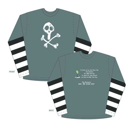 Image: Tim Burton Toxic Boy Long-Sleeve Shirt  (XXL) -