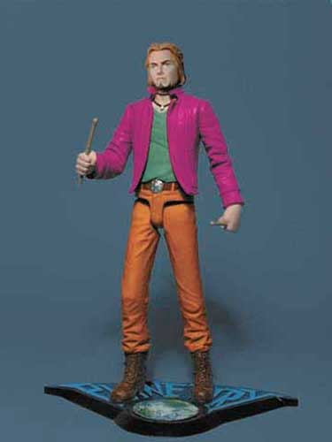 Image: DC Action Figure - Planetary: The Drummer  -