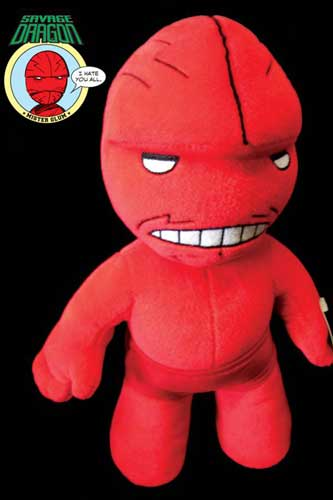 Image: Savage Dragon Plush Toy: Mr. Glum  -