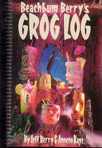 Image: Beachbum Berry's Grog Log  - Amaze Ink/Slave Labor Graphics