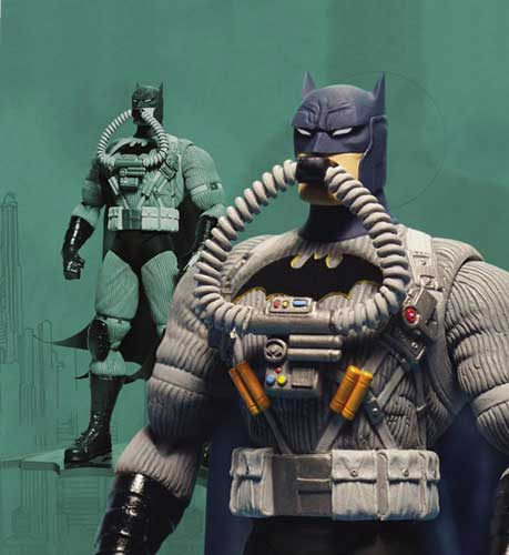 Image: Batman Hush Series 3 Action Figure: Stealth Jumper Batman  -