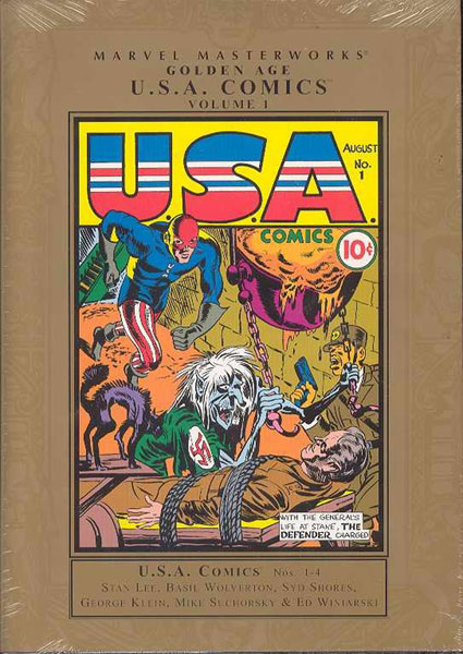 Image: Marvel Masterworks: Golden Age USA Comics Vol. 01 HC  - Marvel Comics