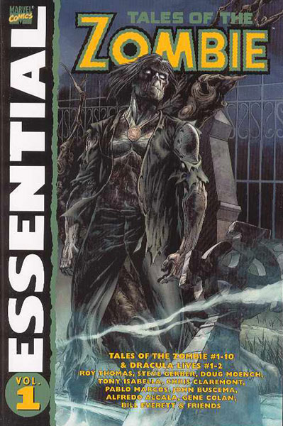 Image: Essential Tales of Zombie Vol. 01 SC  - Marvel Comics