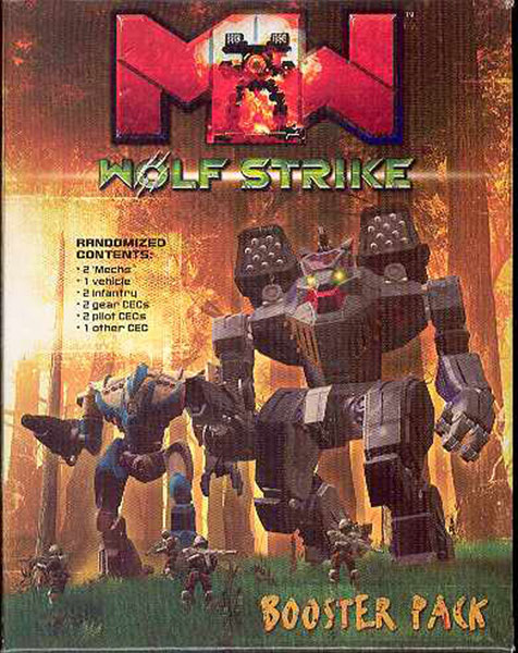 Image: Mechwarrior CMG: Wolf Strike Booster Pack  -