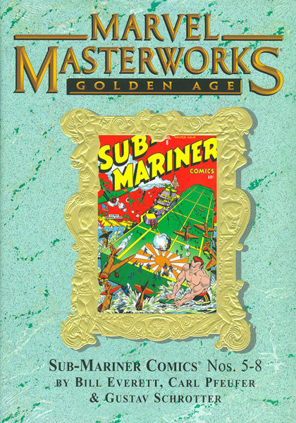 Image: Marvel Masterworks: Golden Age Sub-Mariner Vol. 2  (variant hc) - Marvel Comics