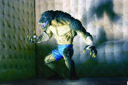 Image: Secret Files: Batman Rogues Gallery Action Figure: Killer Croc  -