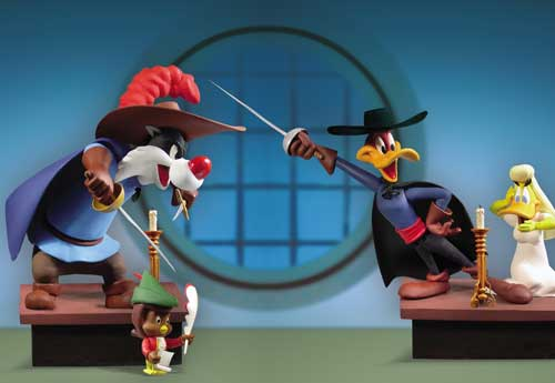 Image: Looney Tunes Golden Collection Series 1 Action Figure Set  (4) -