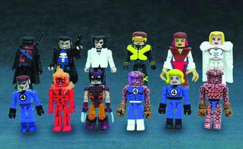 Image: Marvel Minimates 2-Pack Series 9 Case  (12 minimate 2-packs)