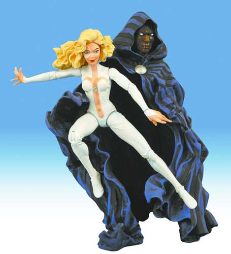 Image: Cloak & Dagger Marvel Select Action Figure  - Marvel Comics