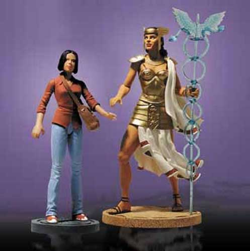 Image: DC Deluxe Action Figure Set: Promethea and Sophie  -