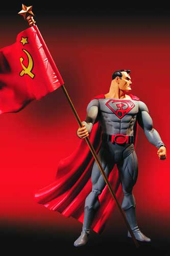 Image: Elseworlds Series 1 Action Figure: Red Son - Superman  -