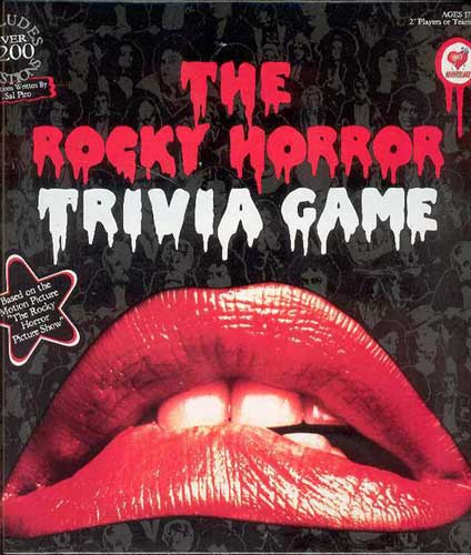 Image: Rocky Horror Picture Show Trivia Game  -
